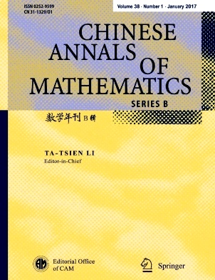 Chinese Annals of Mathematics Series B杂志社